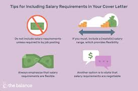 Google Graphic Design Salary Cover Letter Example With Salary Requirements