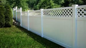 vinyl picket fence front yard. White Vinyl Fence Picket Front Yard -