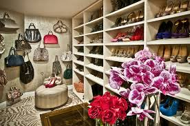 shoe and purse with eclectic shelf dividers closet eclectic and gold paint