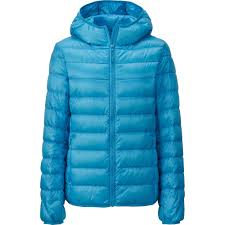 How To Wash Uniqlo Ultra Light Down Jacket Uniqlo Women Ultra Light Down Hooded Jacket In Blue Lyst