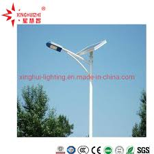 china 6m 7m 8m 12m led lamp galvanized
