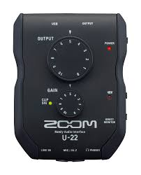 Zoom U 22 Handy Audio Interface Zoom