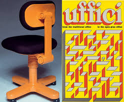 office space cover. Adjustable Typist Chair From The Sistema 45 Collection, 1973, By Ettore Sottsass, And Office Space Cover