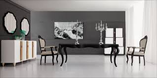 new more details black dining table modern dining table solid wood