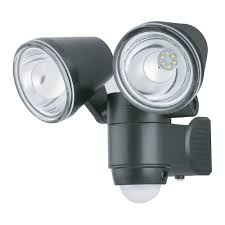 Battery Operated Photocell Light Link2home 330 Lumen Motion Activated Battery Operated Security Light Led Flood Light Waterproof Dusk To Dawn Photocell Sensor