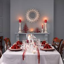 red christmas table decorations. Red Christmas Table Decoration Ideas Banquet Decorations P