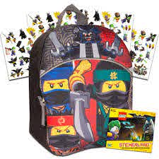 Lego Ninjago Toddler Preschool Backpack Bundle -- 11 Inch Mini Backpack  with Stickers (School Supplies): Amazon.in: Clothing & Accessories