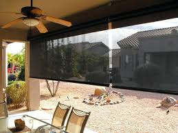 tropic solar roller shades allows the inclusion of that jungle green house look in a outdoor roll up solar shades memorable radiance indoor outdoor