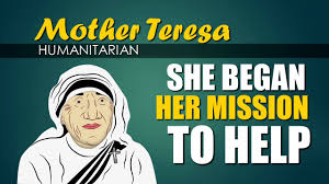 Mother Teresa (Biography for Children) Youtube for Kids (Women's ...