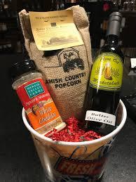 popcorn bucket gift set
