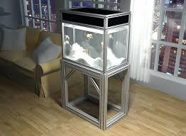 diy fish tank stand 55 gallon