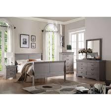 shelby 6 piece king bedroom set. acme furniture louis philippe iii 4-piece antique grey bedroom set (4-piece twin set, gray) shelby 6 piece king