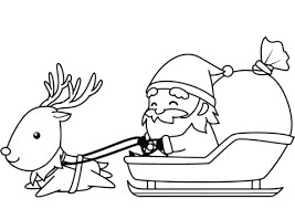 100% free christmas coloring pages. Santa Coloring Pages Ideas Whitesbelfast