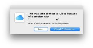 fixing icloud unknown error occurred