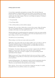 7 Make A Good Cover Letter Budget Reporting