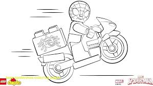 Spider Man Coloring Page For Lego Spiderman Coloring Pages