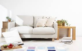 White Couch Living Room Modern White Interior Of Living Room 3d Render Design Mag Image