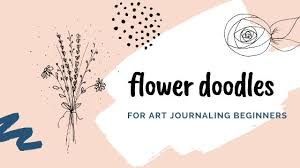 We share lots of bujo, calligraphy and doodle ideas to get you. Simple Flower Doodles Step By Step Tutorial For Art Journaling Beginners Artful Haven