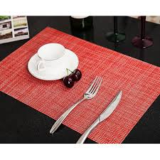 Wholesale 6 Colours Table Placemaat Kitchen Accessories Placemats For Table Mat Drink Coasters Cup Dishes Mug Stand Kitchen Goods