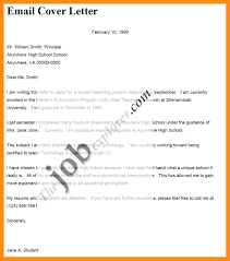 Email Cover Letter Template Image Collections Letter Samples Format