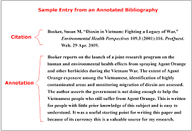 Writing Assignment   Annotated Bibliography