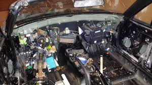 anavriniv builds an exocet mazdaspeed forums ecu to engine wiring harness removed main cabin and trunk wiring harness removed lots of painters tape labels created so i hopefully won t lose anything