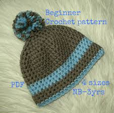 Easy Crochet Baby Hat Patterns For Beginners New Baby Hat Pattern Crochet Easy Crochet Pattern Baby