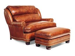valuable leather chair and a half with ottoman on home design ideas with additional 44 leather