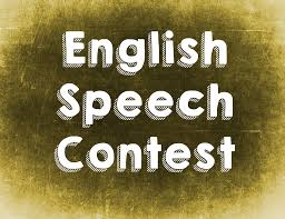 english speech contest in wherethereteach as well as teaching classes prepping worksheets and making board games there are a couple of other duties an efl teacher be requested to do such as
