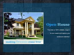 Open House Powerpoint Open House Ppt Powerpoint Presentation Example File
