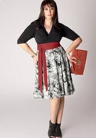 Plus Size Skirt Patterns Adorable Plus Size Dress Pattern PlusLookeu Collection