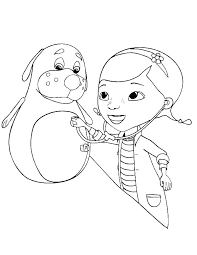 Doc Mcstuffins Coloring Pages To Print Doc Coloring Pages View