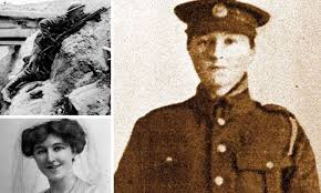 She fought on the Somme, so why did Dorothy Lawrence die in a lunatic  asylum? | Daily Mail Online