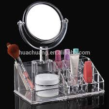 whole acrylic makeup organizer with drawers market cosmetic display acrylic makeup storage bo with mirror