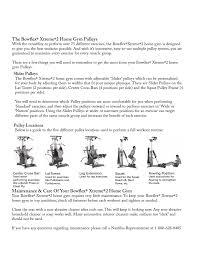 maintenance care of your bowflex xtreme 2 home gym bowflex xtreme 2 user manual page 5 73