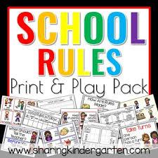 Classroom Rules School Rules