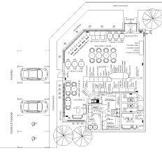 A Coffee Shop Floor Plan Design