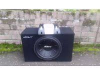 speakers subwoofer. subwoofer - mutant mtpk12-a 2 channel amp with front \u0026 rear speakers