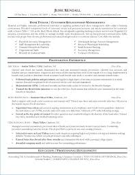 Bank Teller Resume Template Mesmerizing Resume For Bank Teller Best Of Banking Resume Sample Tonyworldnet