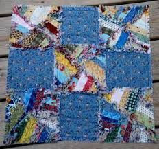 47 best rag quilts images on Pinterest | Rag quilt, Quilt sizes ... & Make String Pieced Rag Quilt Blocks: Meet the Rags 'n Strings Quilt Block Adamdwight.com