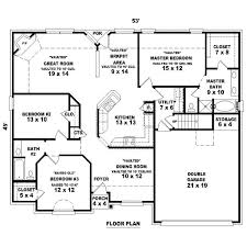 cool 3 bedroom 2 bath floor plans small 3 bedroom 2 bath floor plans in addition to house plans 4 bedroom 3 bath