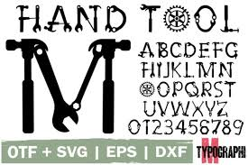 Whether you are an illustrator, designer, web designer or just someone who needs to. Hand Tool Font By Typography Morozyuk Creative Fabrica