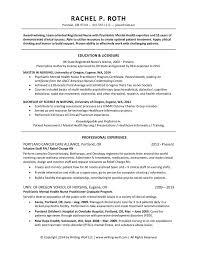 Experienced Nursing Resume Examples Experienced Nursing Resume