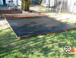 the perfect kennel floor installation method provides a gravel drainage layer mount your