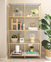 hack ikea furniture. diy gold ikea bookshelf hack furniture