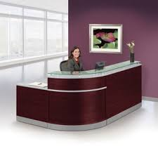 office reception furniture designs. brilliant reception esquire glass top reception desk  95 in office furniture designs