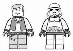 Small Picture Lego Star Wars Luke Skywalker coloring page from Lego Star Wars