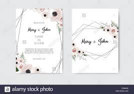 Wedding Cards Template Wedding Invite Invitation Botanical Wedding Invitation Card
