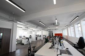 suspended linear lighting. VINTRY BUILDING, BRISTOL Suspended Linear Lighting