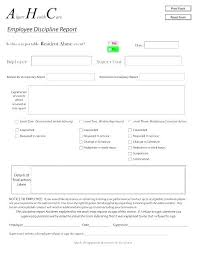 Employee Write Up Policy Disciplinary Policy Template